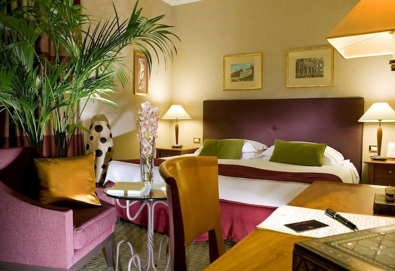 호텔 데이 멜리니, 로마, 슈피리어 더블룸, 객실