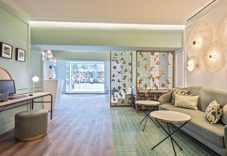 Hotel Via Augusta, Barcelona, Área de estar (saguão)