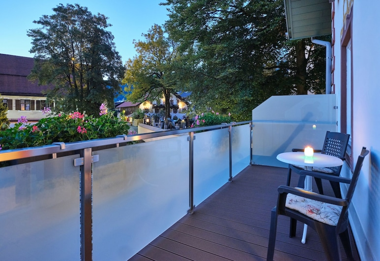 AKZENT Hotel Turmwirt, Oberammergau, Pokój dwuosobowy typu Superior, Balkon