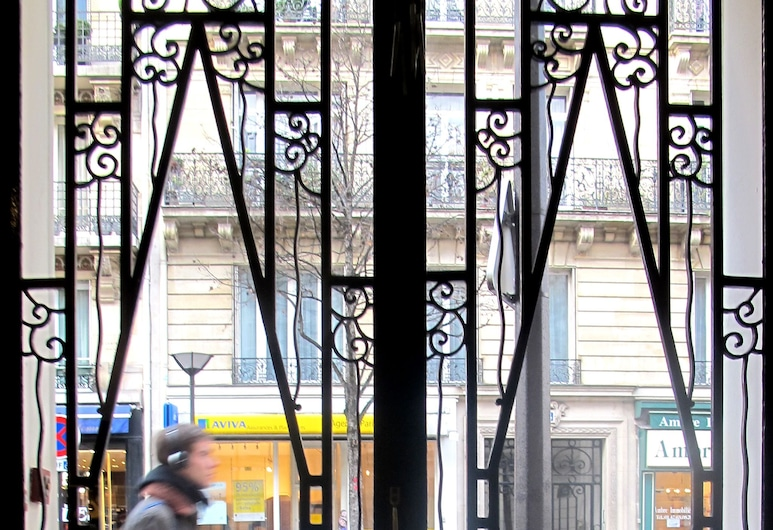 Hôtel Cosy Monceau, Paris, Hotellentré