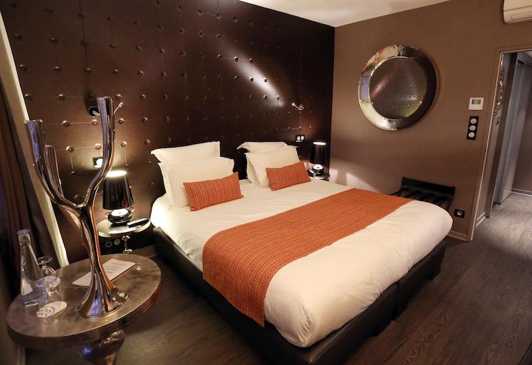 Hotel Rohan, שטרסבורג, חדר דה-לוקס זוגי, חדר אורחים