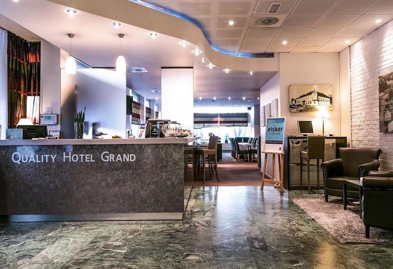 Quality Hotel Grand Steinkjer, סטיינקייר, לובי