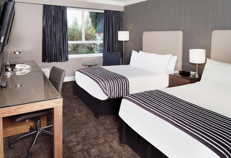 ساندمان هوتل لانجلي, لانجلي, غرفة عادية - سريران مزدوجان (Doubles), غرفة نزلاء