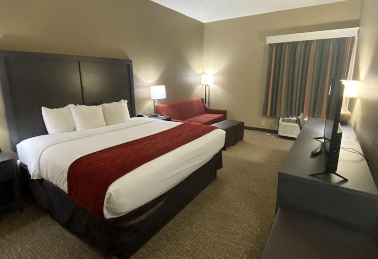 Comfort Inn Opelika - Auburn, אופליקה, סוויטה, מיטת קינג, ללא עישון, חדר אורחים