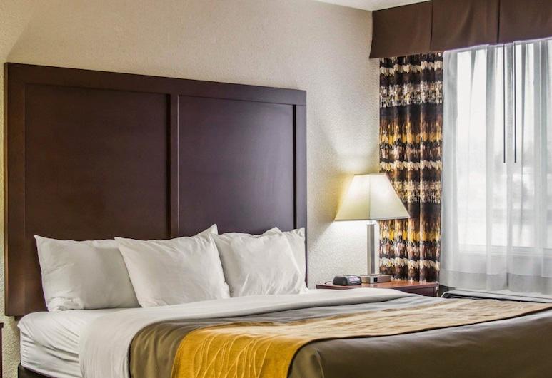 Comfort Inn Birch Run - Frankenmuth, Birch Run, Rom – standard, 1 kingsize-seng, ikke-røyk, massasjebadekar, Gjesterom