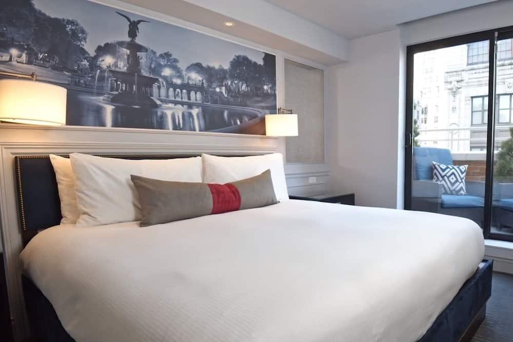 Premium-værelse - 1 kingsize-seng - balkon - Altan