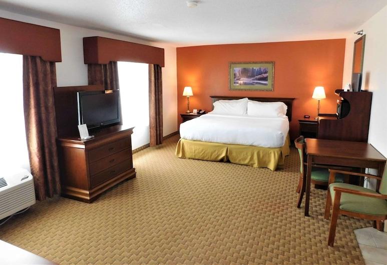 Americinn by Wyndham Ogallala, Ogallala, Superior suite, 1 kingsize bed, niet-roken, Kamer