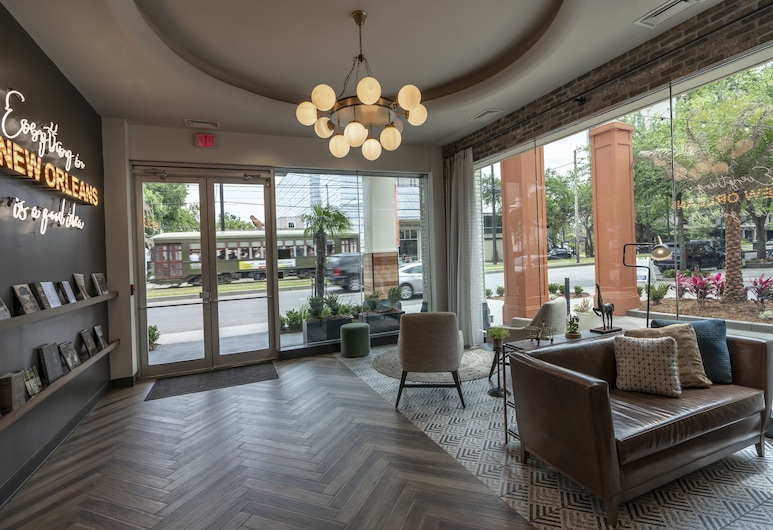 St Charles Coach House, Ascend Hotel Collection, New Orleans, Pintu Masuk Interior