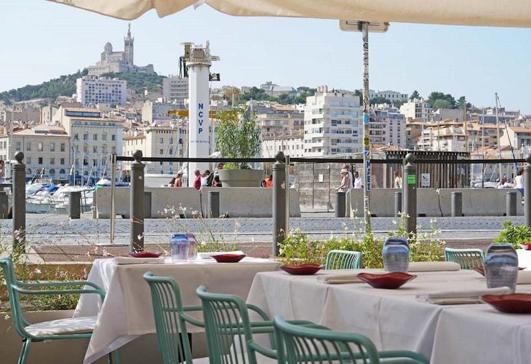 Hôtel la Résidence du Vieux-Port, Marseille, Outdoor Dining