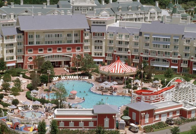 Disney's BoardWalk Villas, Lago Buena Vista, Vista Aérea