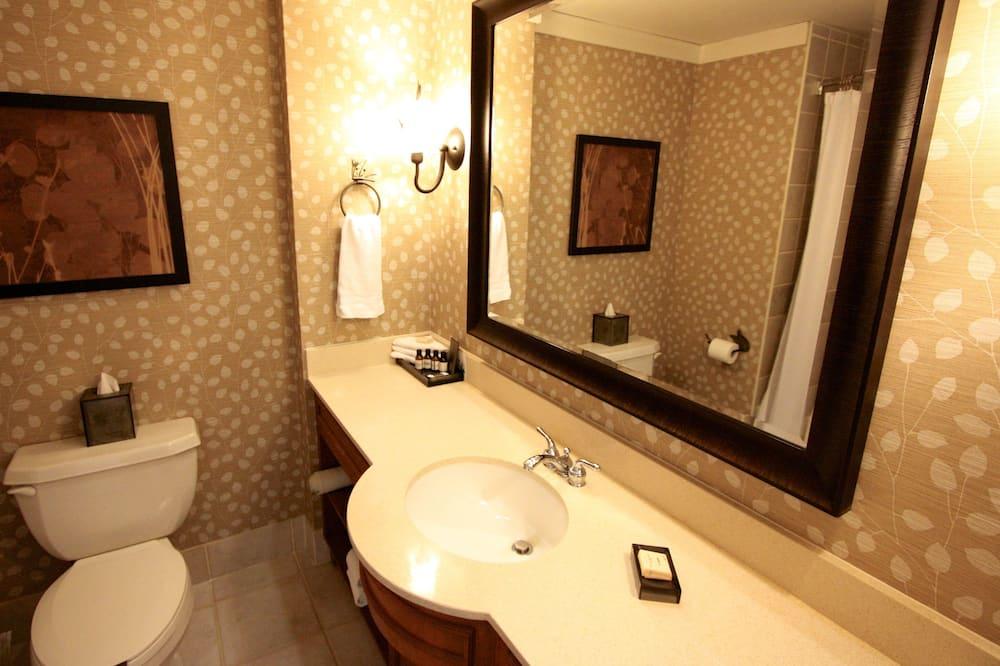 ห้องพัก, เตียงคิงไซส์ 1 เตียง, ปลอดบุหรี่, เห็นวิว (Fairmont) - ห้องน้ำ