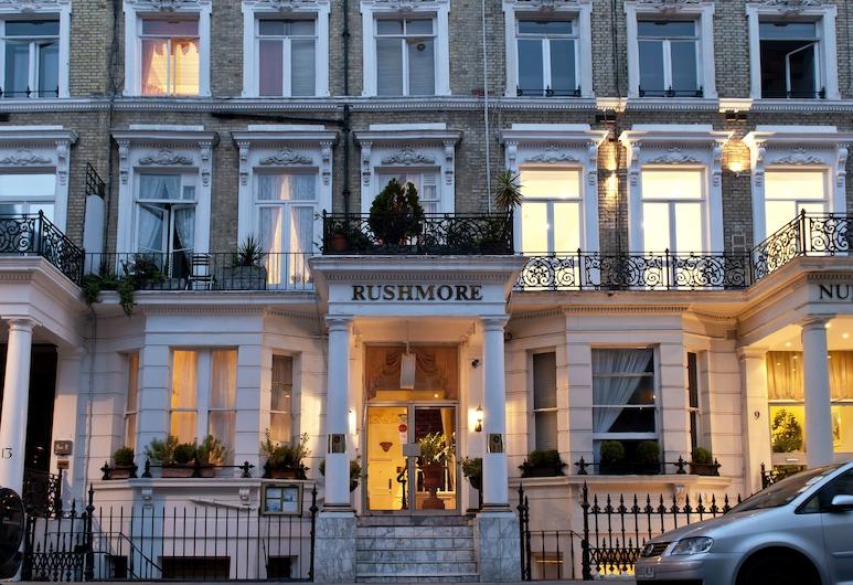 Rushmore Hotel, London, Hotel Front – Evening/Night