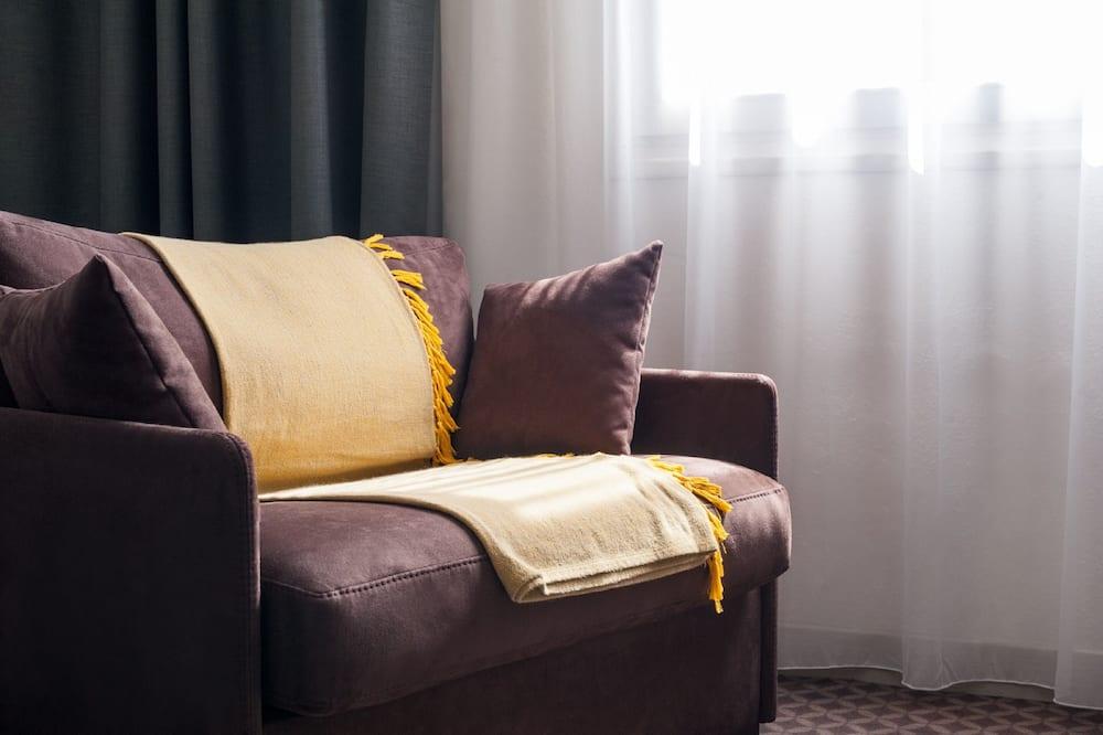 Apartmá s ložnicí a obývacím koutem, 1 ložnice - Pokoj