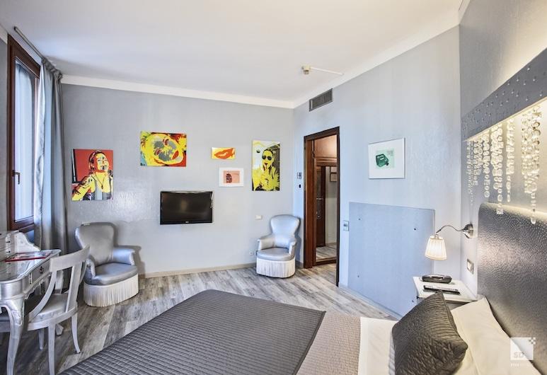 Admiral Hotel, Milaan, Deluxe Twin kamer, Kamer