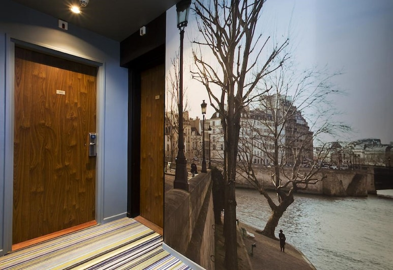Hôtel Elixir, Paris, Hotellet innvendig
