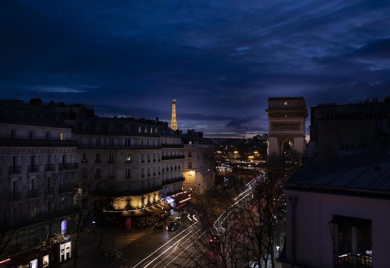 Hôtel Plaza Etoile, Paris, Dobbelt- eller tomannsrom – deluxe, Utsikt mot byen