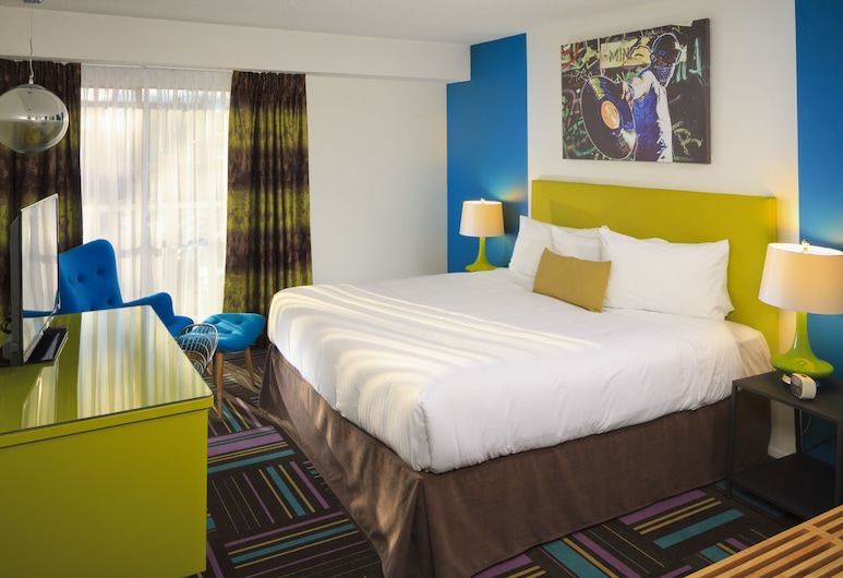 Hotel Zed Victoria, Victoria, Standard Room, 1 King Bed, Guest Room
