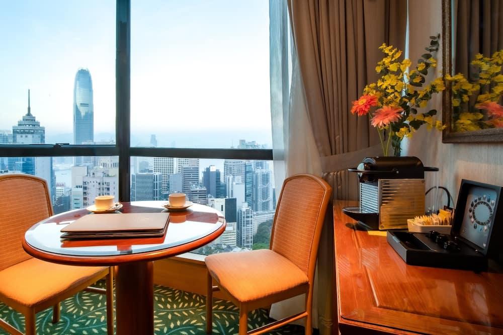 Deluxe Suite, 1 Katil Ratu (Queen), City View - Ruang Tamu