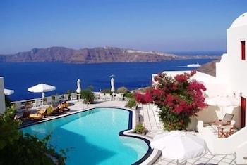 Foto di Nikos Villas Hotel in Oia Santorini a Santorini