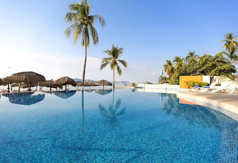 Krystal Beach Acapulco, Акапулько, Панорамний басейн