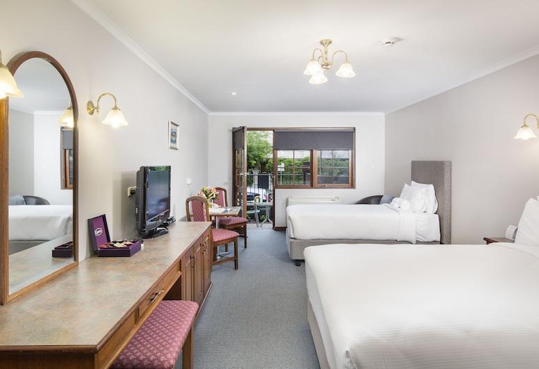 Adelaide Inn, צפון אדלייד, סטודיו, אזור החצר, חדר אורחים
