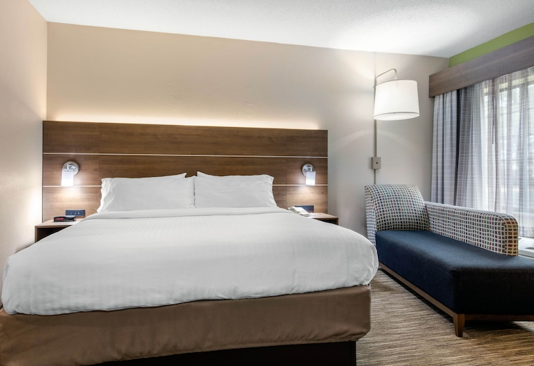 Holiday Inn Express Henderson N Evansville South, Henderson, Room, 1 King Bed, Non Smoking (Leisure), Guest Room