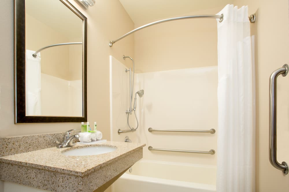 Room, 1 King Bed, Accessible, Bathtub (MOBILITY) - Bathroom