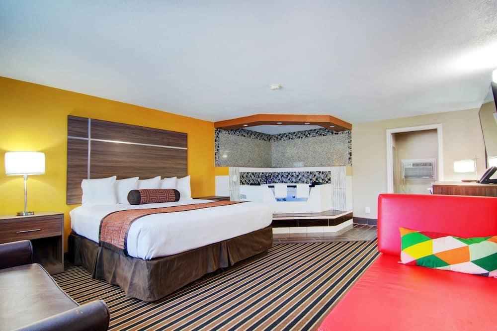 Suite luna di miele, 1 letto king - Area soggiorno