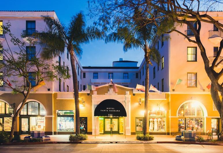 Hotel Santa Barbara, Santa Barbara, Hotel Front – Evening/Night