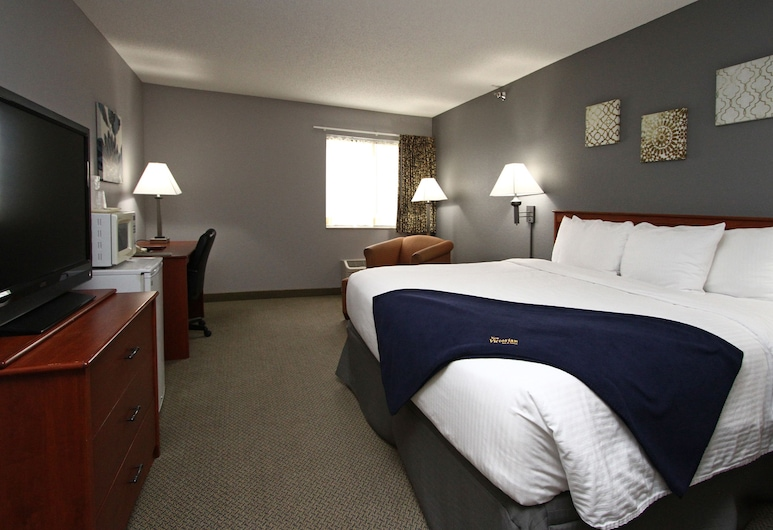 New Victorian Inn & Suites in Sioux City, IA, Sioux City, Quarto Standard, 1 cama king-size, Quarto