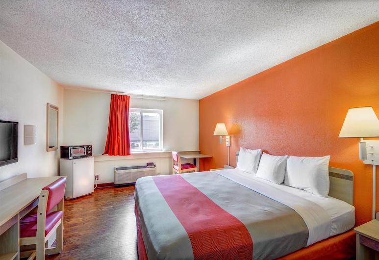 Motel 6 Wichita, KS, Wichita, Standarta numurs, 1 divguļamā karaļa gulta, nesmēķētājiem, Viesu numurs