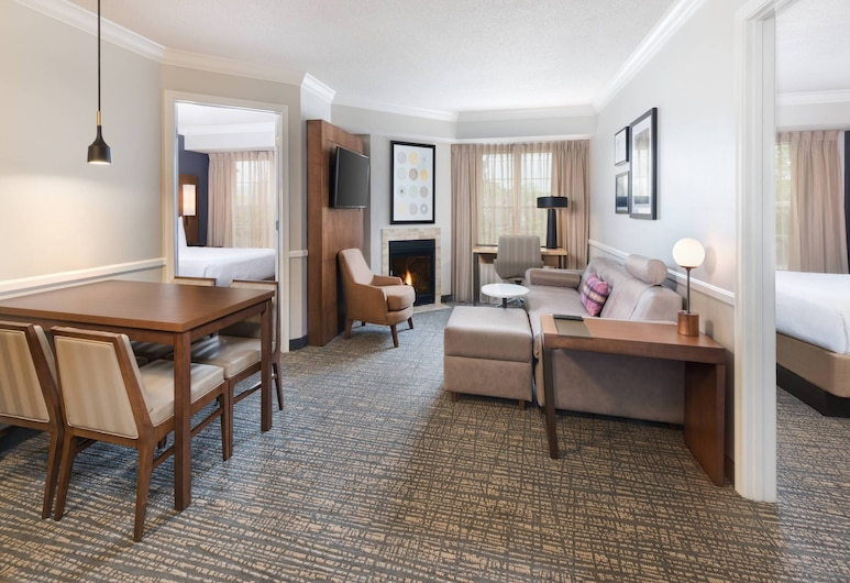 Residence Inn by Marriott State College, State College, Two Bedroom Suite, Herbergi