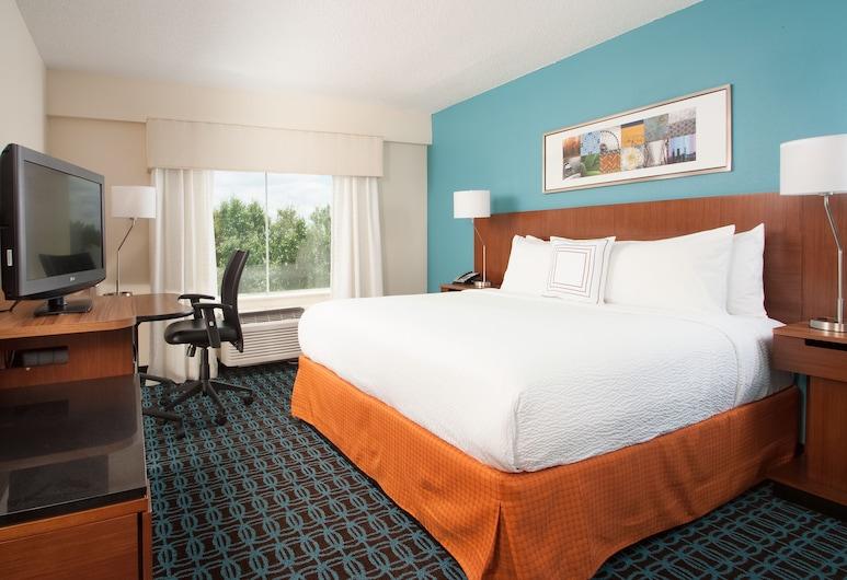 Fairfield Inn by Marriott Greenville-Spartanburg Airport, Greenville, Pokoj, dvojlůžko (200 cm), nekuřácký, Pokoj