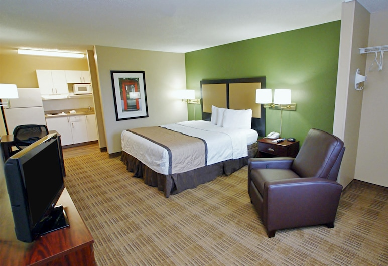 Extended Stay America - Knoxville - Cedar Bluff, Knoxville, Studio, 1 King Bed, Accessible, Non Smoking, Guest Room