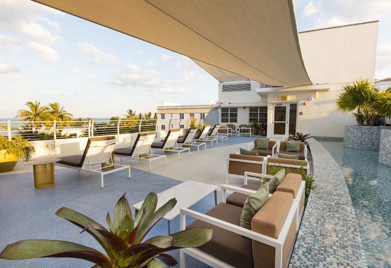 Clevelander Hotel – Adults Only, Miami Beach, Terrasse/Patio