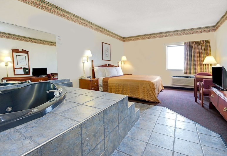 Travelodge by Wyndham St. Louis, סנט לואיס, חדר אורחים