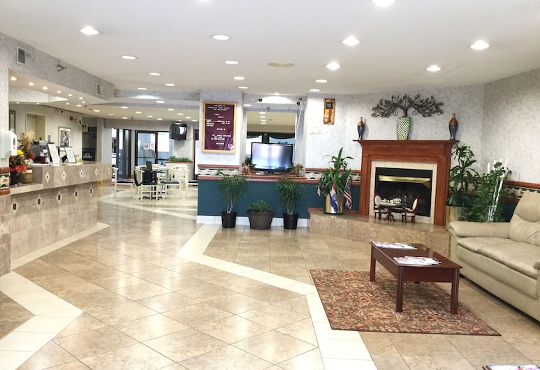 Americas Best Value Inn & Suites St. Louis, St. Charles Inn, St. Charles, Eingangsbereich