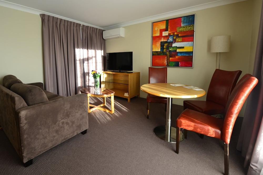 Standartinio tipo kambarys, Nerūkantiesiems (Dinner, bed and Breakfast) - Svetainės zona