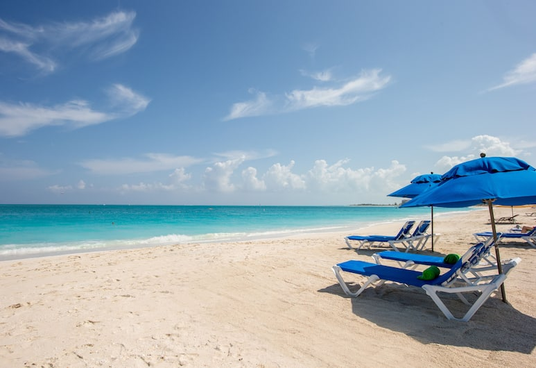 Ports of Call Resort, Providenciales-sziget, Strand