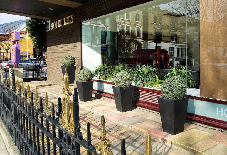 Hotel Lily, Londres, Façade de l'hôtel