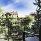 Superior-Doppelzimmer, Gartenblick - Balkon