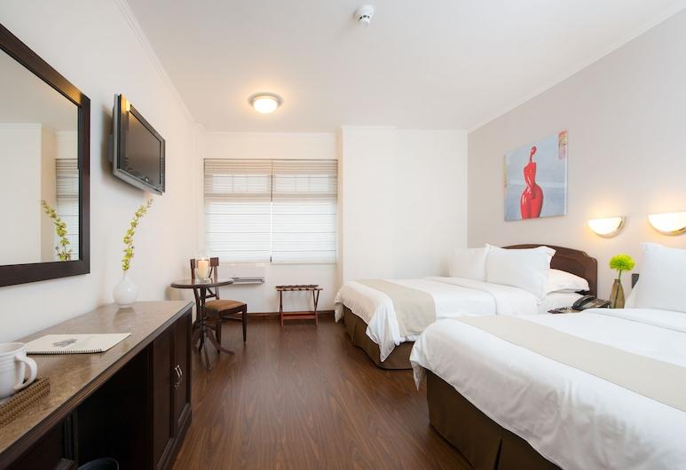 Parque del Lago Boutique Hotel, San Jose, Standard Room, 2 Queen Beds, Guest Room