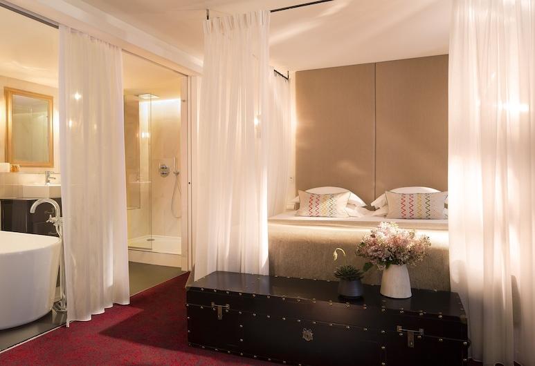Hôtel Moliere, Paris, Deluxe-rom, Gjesterom