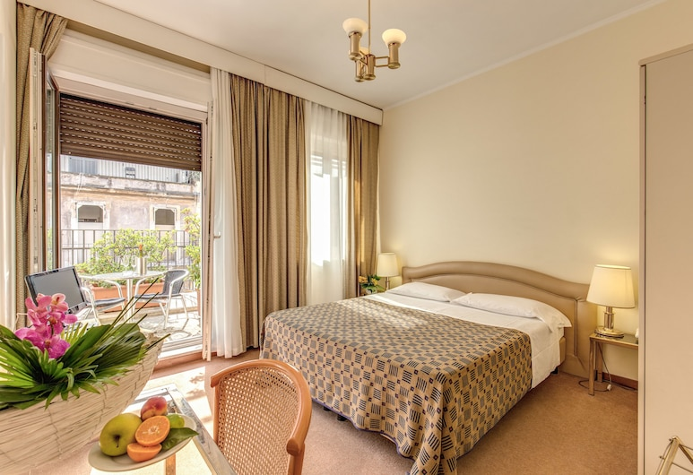 Hotel King, Rome, Standard Double Room, Guest Room