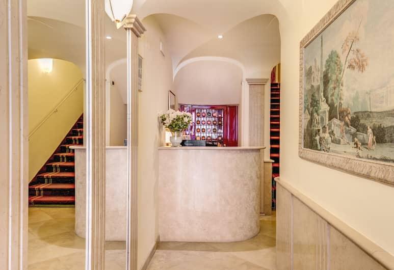 Hotel San Silvestro, Rome, Receptie