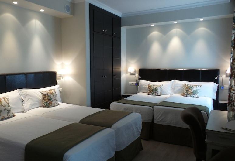 Hotel Moderno, Madrid, Vierbettzimmer, Zimmer
