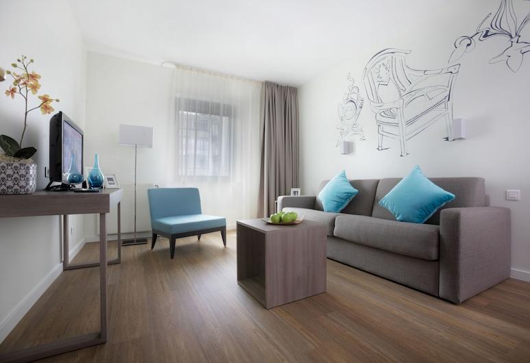 Citadines Toison d'Or Brussels, Bryssel, Huoneisto, 2 makuuhuonetta, Huone