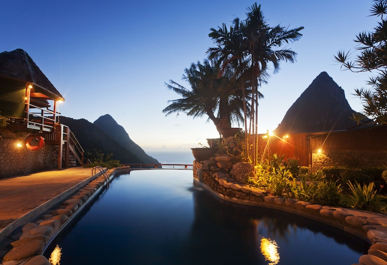 Ladera Resort, Soufriere, Outdoor Pool