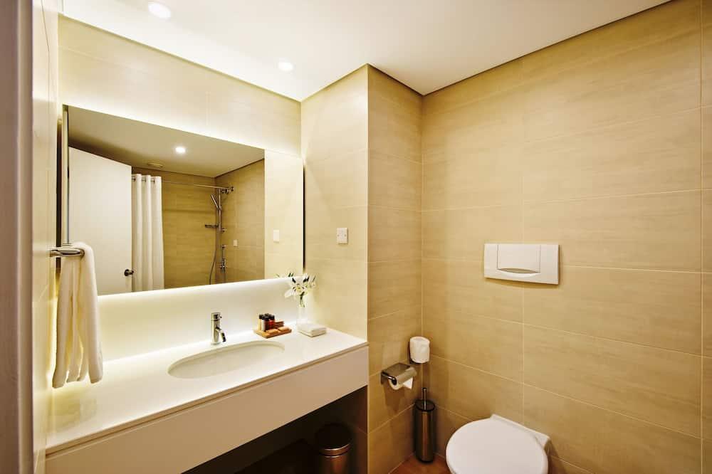 Liukso klasės kambarys, vaizdas į kalnus - Vonios kambarys