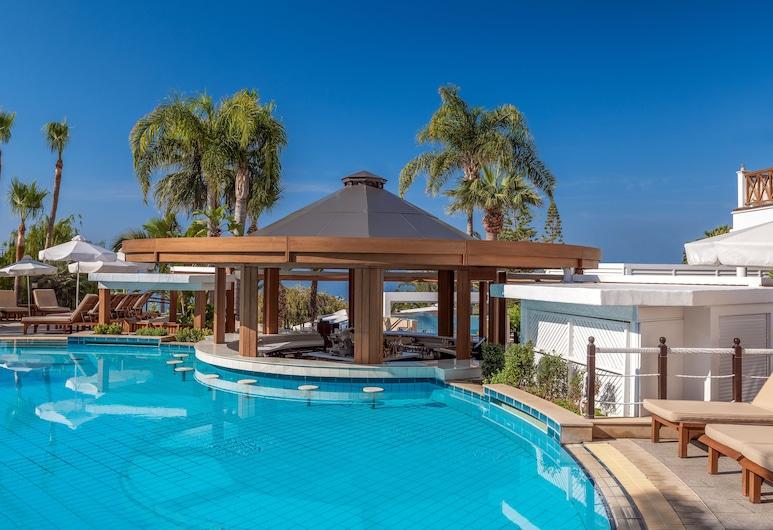 Mediterranean Beach Hotel, Limassol, Piscina al aire libre